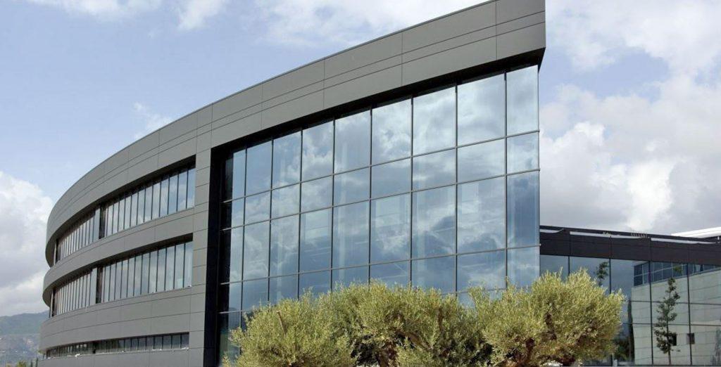 Edificios de cristal, fachadas ligeras de muro cortina