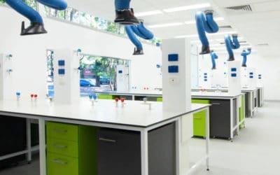 Tableros fenólicos para mesas de laboratorio