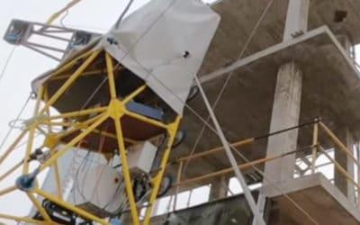 HEPHAESTUS, el robot para instalar muros cortina