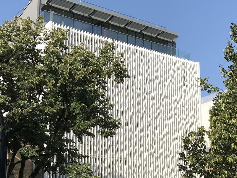 Solid Surface Krion de Porcelanosa, el nuevo icono de la arquitectura blanca contemporánea